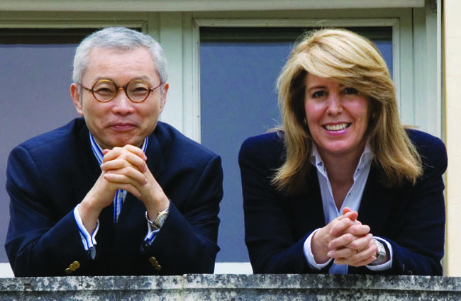 Pictured are authors of Blue Ocean Strategy and INSEAD professors, W. Kim Chan and Renee Mauborgne. Courtesy photo